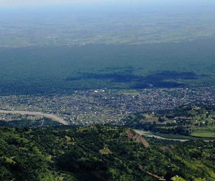 Dharan as seen from Bhedetar
