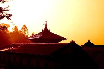 Pashupati Nath Temple (Early Morning), Kathmandu